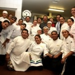 Chefs in the kitchen at Pacificooks