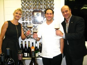 Chef Paul Shoemaker of now closed Bastide with Alain & Sophie Gayot