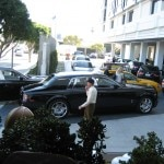 Just after a few days, the entrance is already packed with Rolls Royces and Bentleys