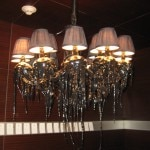 Melted lamp fixture at SLS Hotel at Beverly Hills