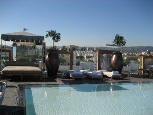 img 6737 300x225 Pool area at SLS Hotel at Beverly Hills
