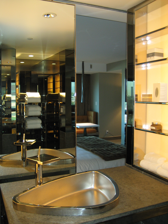 Bathroom at sls hotel at beverly hills