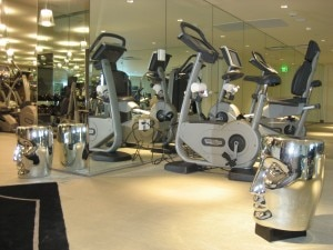img 6765 300x225 Top of the line TechnoGym equipment with Starcks touches