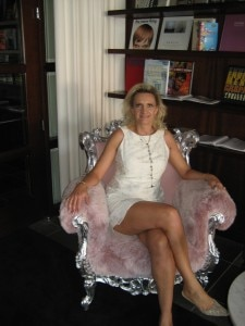 img 6800 225x300 I could not resist the pink armchair at SLS Hotel at Beverly Hills