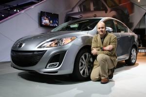 Alain with a 2010 Mazda 3 sedan