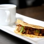 kettle mole with short rib tortilla fold 150x150 Redefining Mexican Cuisine