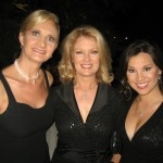 Mary Hart, host of Entertainment Tonight; Victoria Recano, host of The Insider