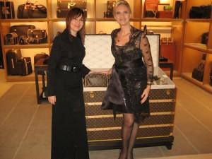 Olimpia Garabet, Store Director & Sophie Gayot