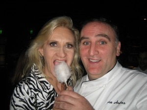 José Andrés and his foie gras in cotton candy