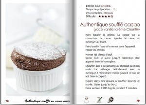 Gilles Epie's chocolate souffle recipe
