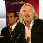 Sir Richard Branson and Mayor Antonio Villaraigosa