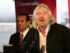 australia6 Sir Richard Branson and Mayor Antonio Villaraigosa