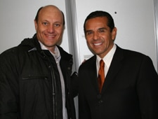 Mayor Antonio Villaraigosa and Alain Gayot