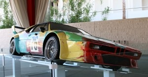 Andy Warhol's BMW M1 design