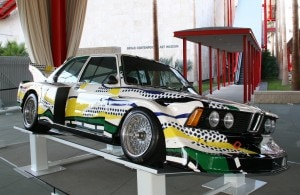 Roy Lichtenstein's BMW 320i design