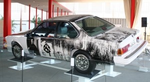 Robert Rauschenberg's BMW CSi design