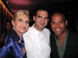 Amaury Nolasco, chef Sébastien Archambault & Sophie Gayot