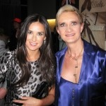 Demi Moore & Sophie Gayot at the opening of ANdAZ