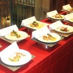 All the contestant's dishes