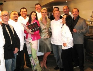 All of us celebrating Jacques Torres's new book