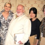 Judges Gail Simmons, chef Michel Richard, Kay Chun, Margaret Swaine and Sophie Gayot