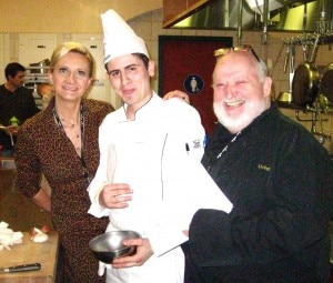Chef Michel Richard, contestant Daniel Agregard & Sophie Gayot