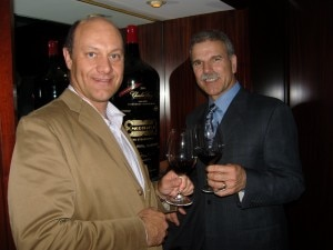 Peter Mondavi Jr. with Alain Gayot