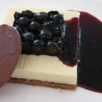 Blueberry cheesecake by Chef Michel Richard