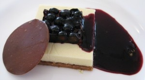 cheesecake 300x166 Blueberry cheesecake by Chef Michel Richard