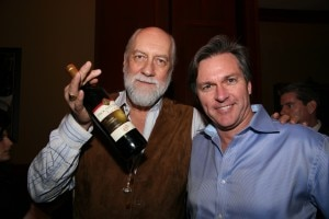 Mick Fleetwood with Gayot Associate Publisher Greg McComb