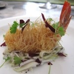Chef Michel Richard's Kataifi Prawn