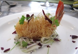 michelrichardprawn 300x207 Chef Michel Richards Kataifi Prawn
