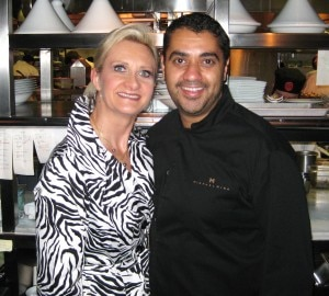 Chef Michael Mina and Sophie Gayot