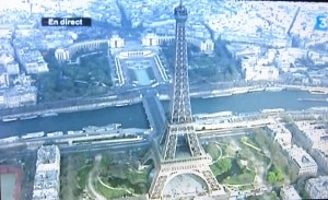 La Tour Eiffel, the most visited monument in the world