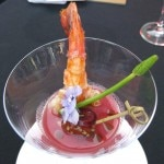 Andy Cook's chilled gazpacho and watermelon