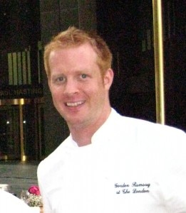 andycookgordonramsaywesthollywood 261x300 Andy Cook from Gordon Ramsay at The London West Hollywood