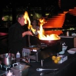 Chef Calvin Holladay from Fleming's Steakhouse at LA Live