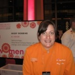 Missy Robbins of A Voce serving up succulent Italian at the James Beard Awards