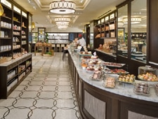 The expansive bakery at the Plaza Food Hall