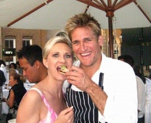 Chef Curtis Stone with Sophie Gayot
