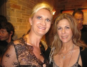 Rita Wilson and Sophie Gayot