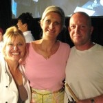Top Chef Contestants Betty Fraser and Stefan Ritcher with Sophie Gayot