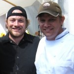 Chefs Ben Ford from Ford's Filling Station and Kris Morningstar from The Bowery / Delancey