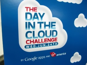 day in the cloud sign 300x225 The Day in the Cloud Challenge