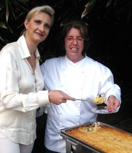 Chef Shari Robins from James' Beach in Venice