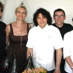 Chef Kerry Simon with his team from Simon L.A.