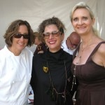 Chef Suzanne Tracht from Jar and Nancy Silverton from Osteria Mozza
