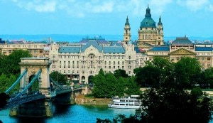 Basilica and Palace at Four Seasons Hotel in Budapest