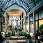 The historic Pava Udvar of the Four Seasons Hotel in Budapest
