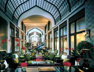 fourseasonshotelbudapestpavaudvarpassage 300x232 The historic Pava Udvar of the Four Seasons Hotel in Budapest